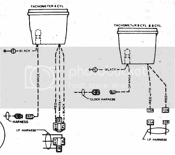 Jeep Tachometer Wiring - Wiring Diagram M10 on