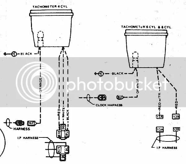 Jeep Tachometer Wiring - Wiring Schematics on