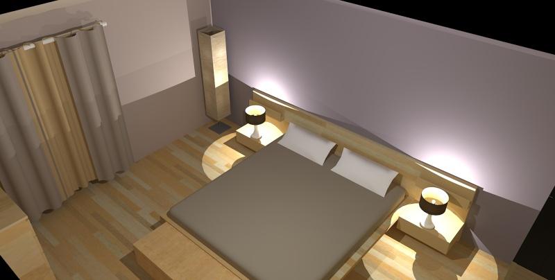 Chambre Marron Glace - Décoration de maison idées de design d ...