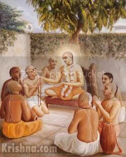 Lord Chaitanya and the Namacharya