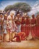 Prakashananda Sarasvati surrenders