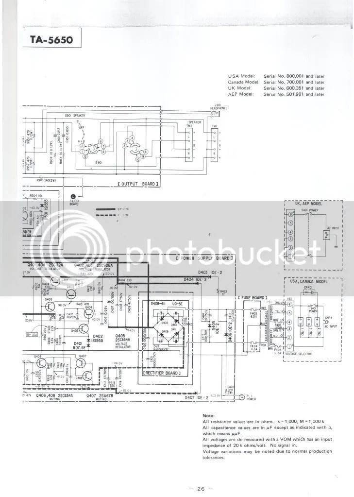 Repair WEGA V4810 / SONY TA5650 V-FET Solidstate Heaven By