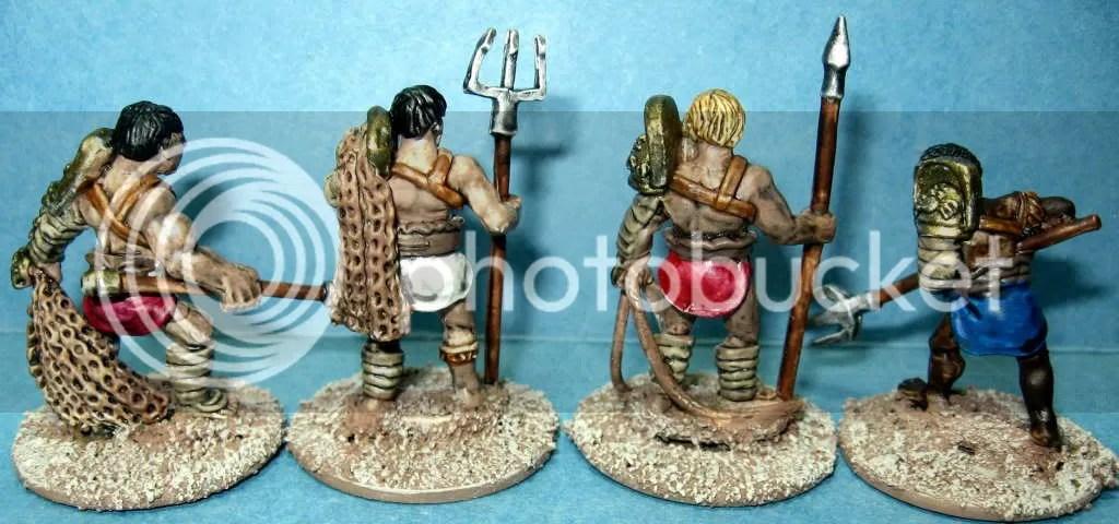 Crusader Retiarii and Laqueaius