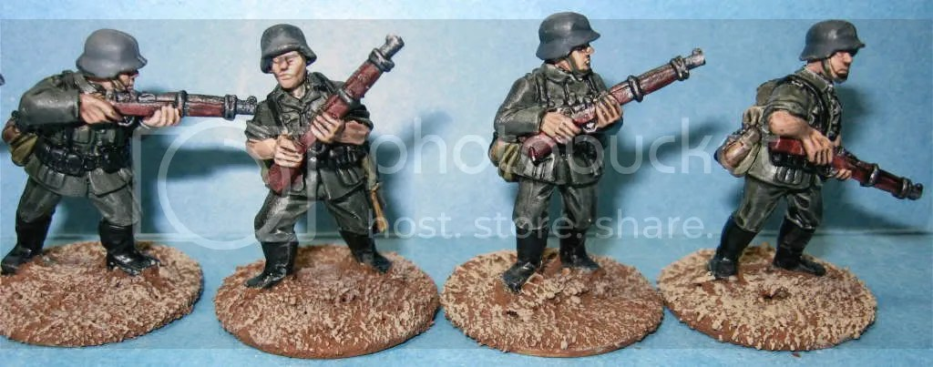 Crusader German riflemen