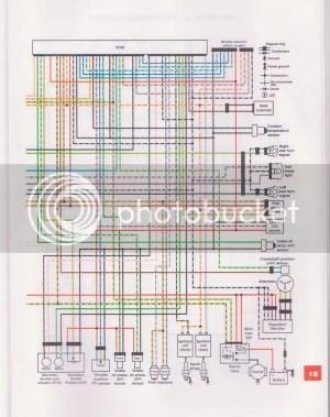 Going LED tail lights need wiring diagram  Suzuki Volusia