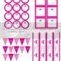 Party ideas pink princess party free printables kara s party ideas