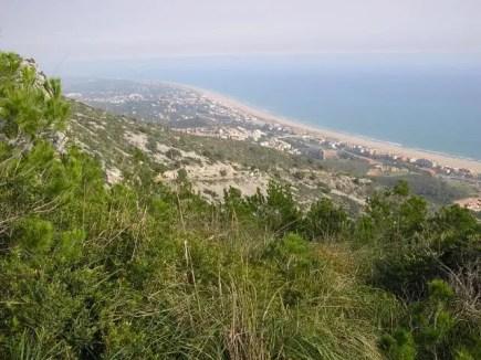 Barcelona desde el Parc Natural del Garraf