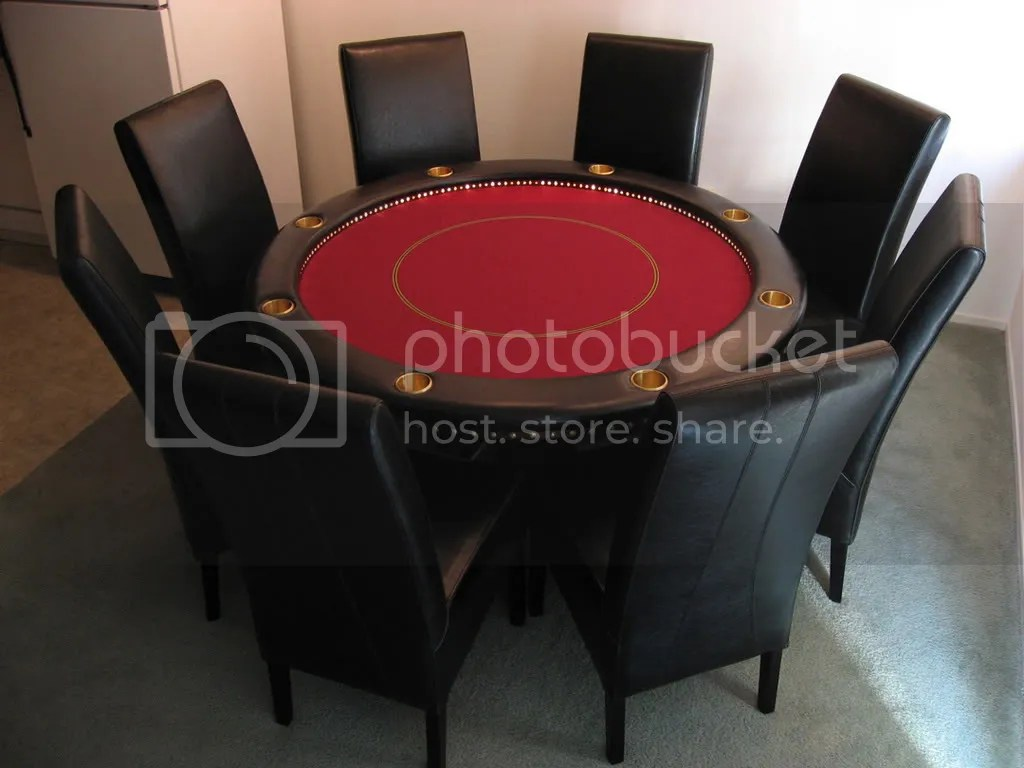Poker Table And Chairs My Big Slik Poker Table Chiptalk Poker Chips And