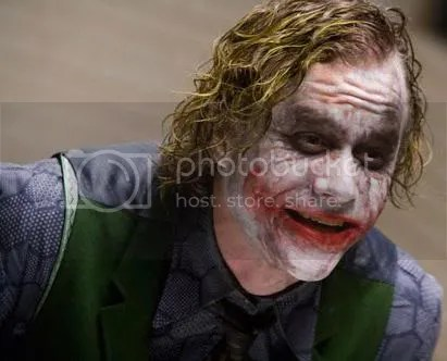 Harvey Dent becomes Two face because of The Joker, but ends up hating Batman...