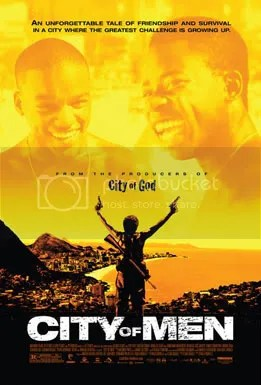City of Men Poster