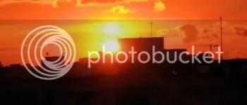 Apus de soare in Bucuresti