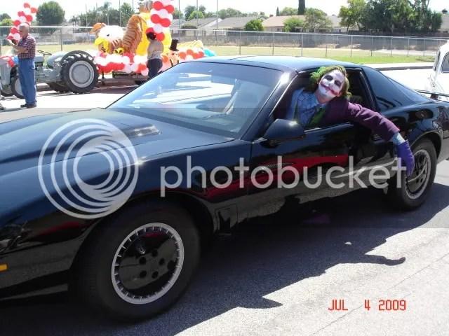 Who let this Joker drive KITT?
