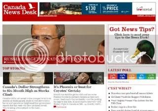 Canada News Desk