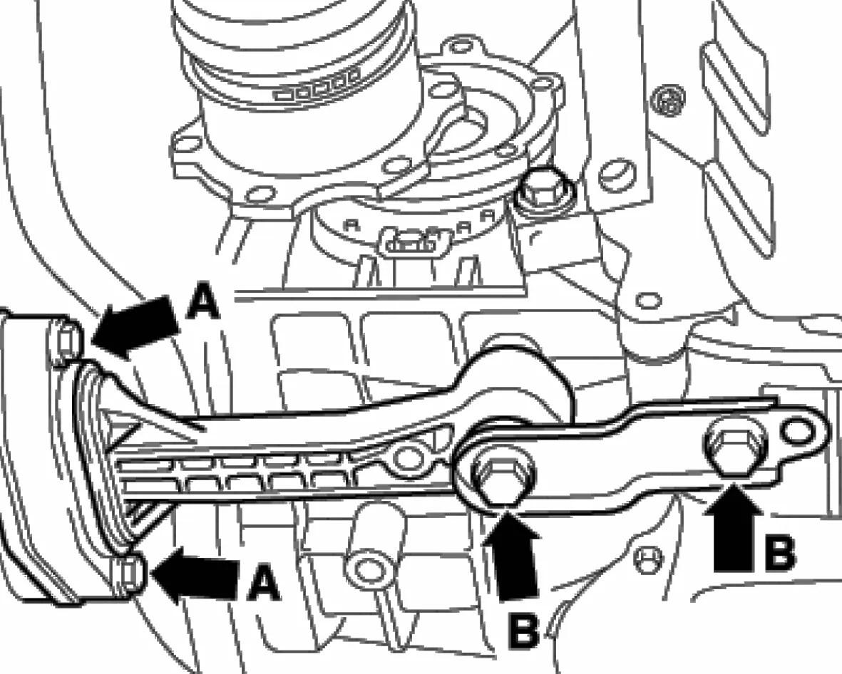Tranny bolt problems