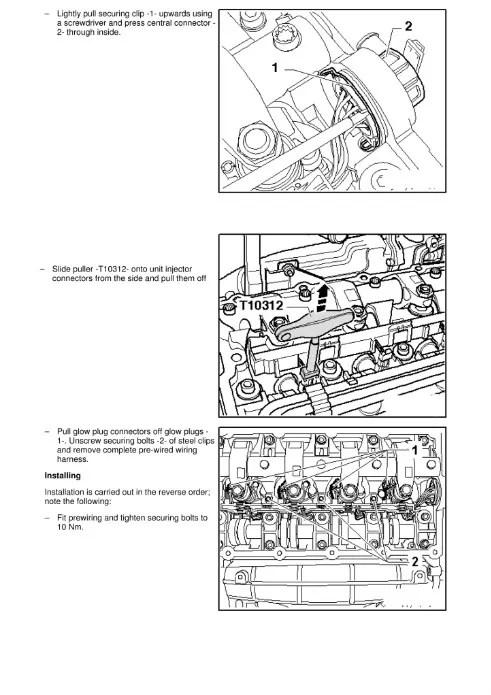 Injector wiring loom DIY