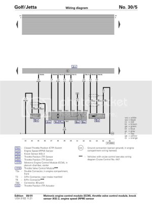 VWVortex  Wiring Diagram for DBW swap