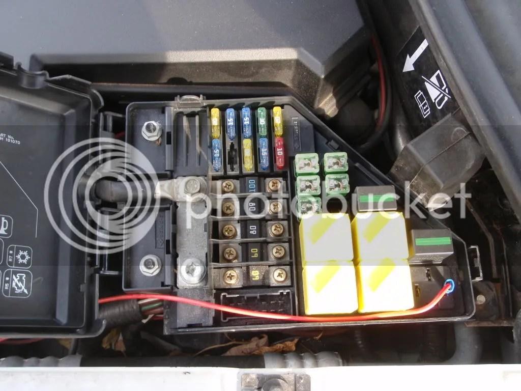 hight resolution of land rover freelander td4 fuse box