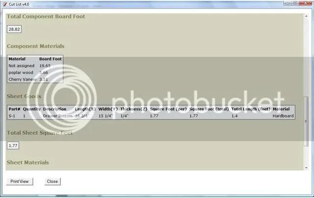 Sketchup Cutlist Plugin Download