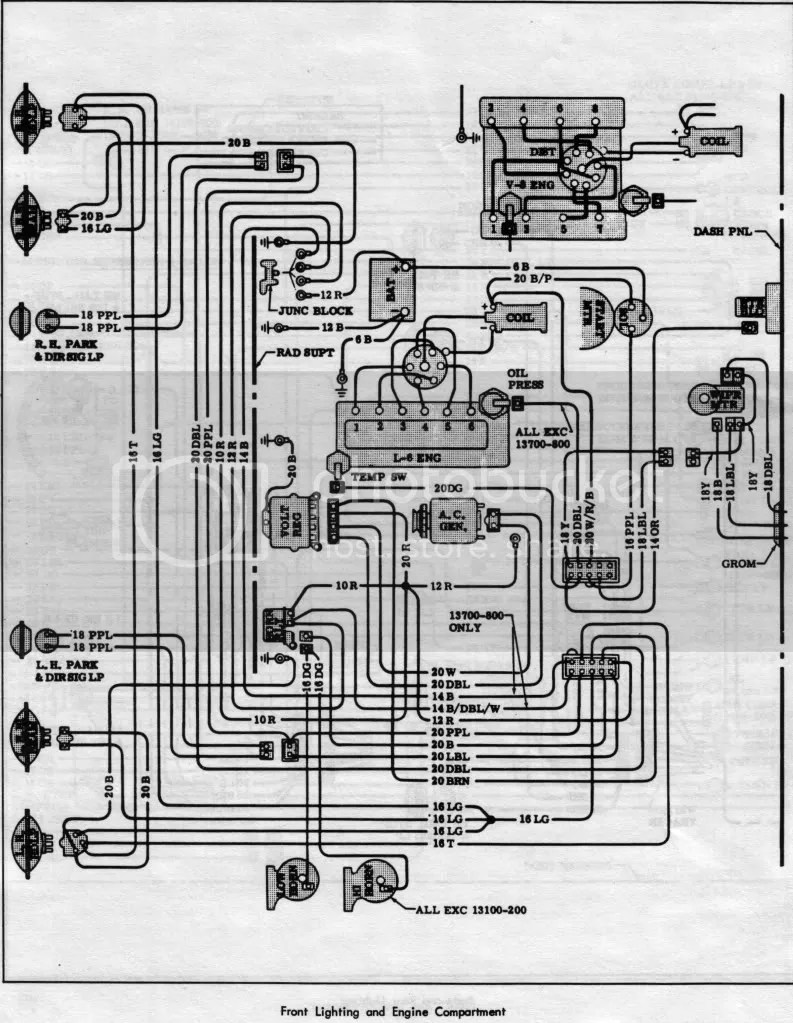 1967 Chevelle Light Wiring Diagram