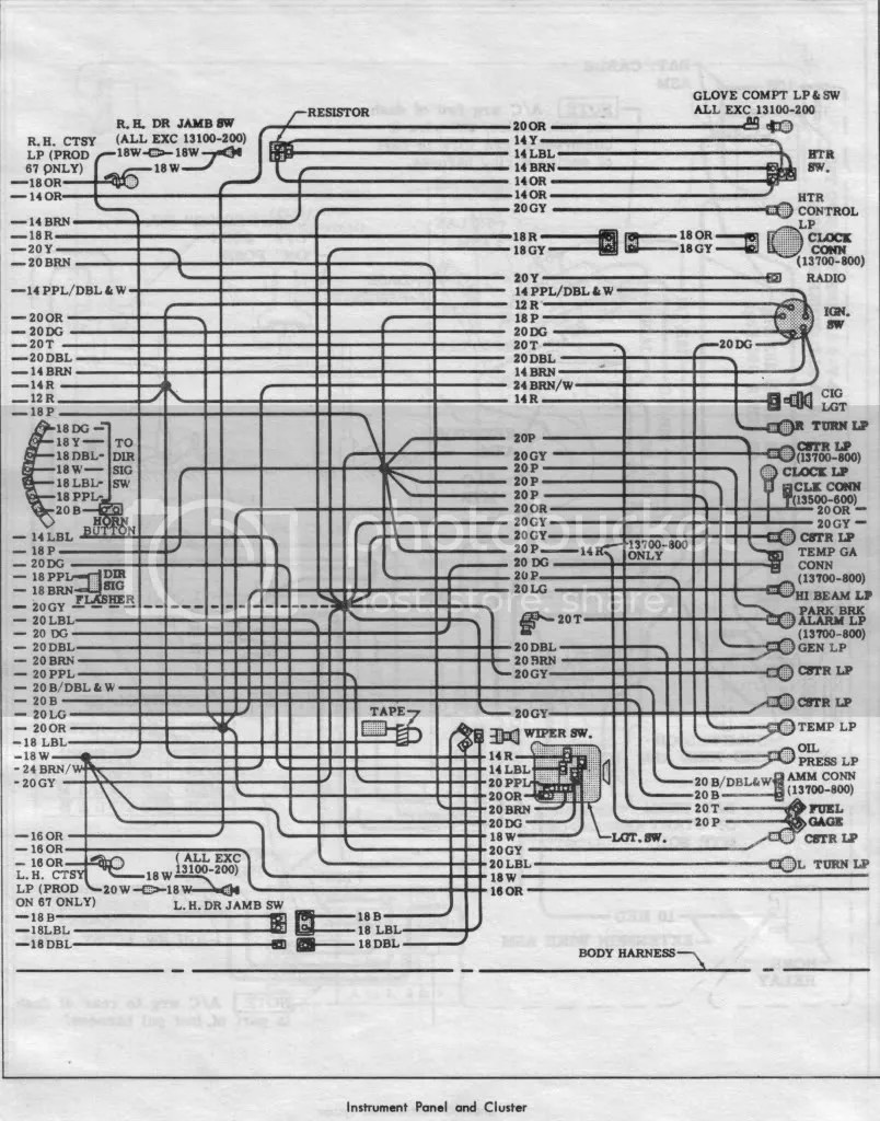 chevelle wiring diagram 2002 honda civic radio 1966 schematics diagrams lamps fuses tech