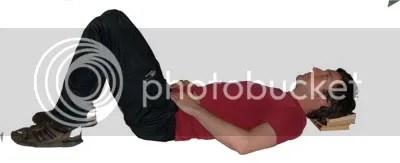 semi-supine position