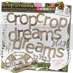 Crop Dreams - Alpha, Number, etc.