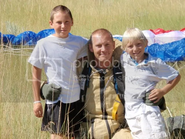 Flinders boys got to see their ol man jump