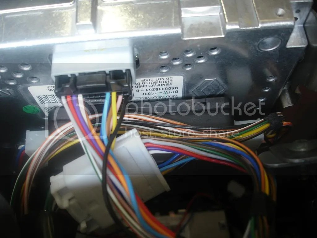 nissan navara d40 2010 wiring diagram western golf cart wired reverse camera to work with sat nav screen i then ran the cable down passenger foot well and along inside of sill