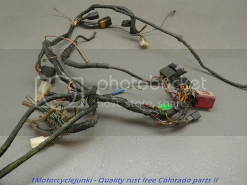 small resolution of 86 suzuki vs700 intruder 700 main wiring harness