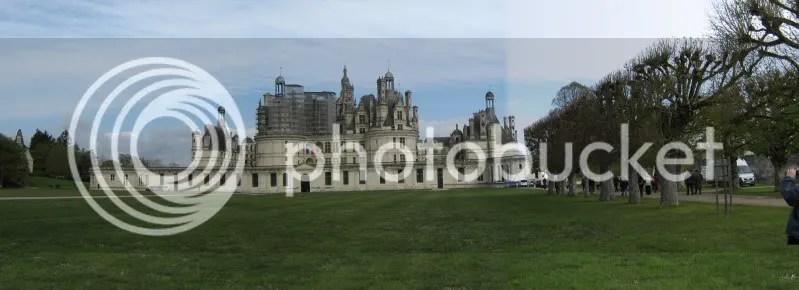 Visite du château de  CHAMBORD avec le CRC le 26 avril 2012