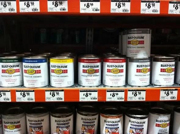 Rustoleum Oil Based Paint On Wood