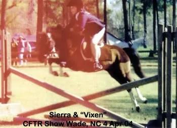 Vixen - CFTR Horse show 2004