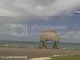 Shelter along seashore (c) Lynda Bernhardt