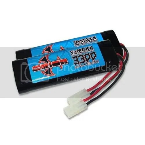3300 nimh stick battery pack