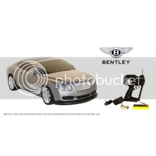 Bentley Nitro rc car