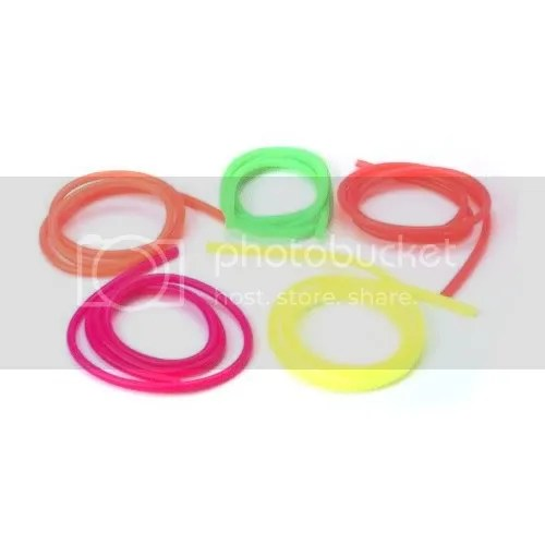 nitro rc car fuel lines assorted
