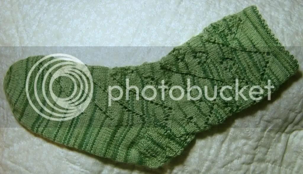 Garden Mystery Socks