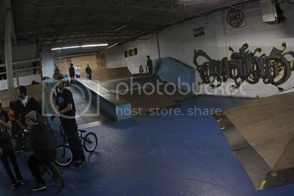 BMX skatepark