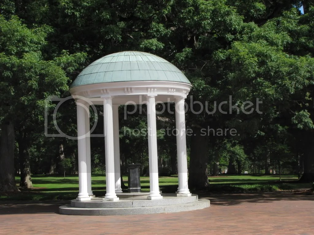 UNC Wishing Well Fountain May 2009 Photo By Bad Target Photobucket