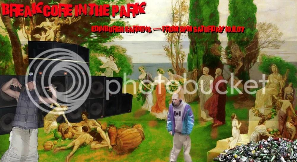 breakcore in the park