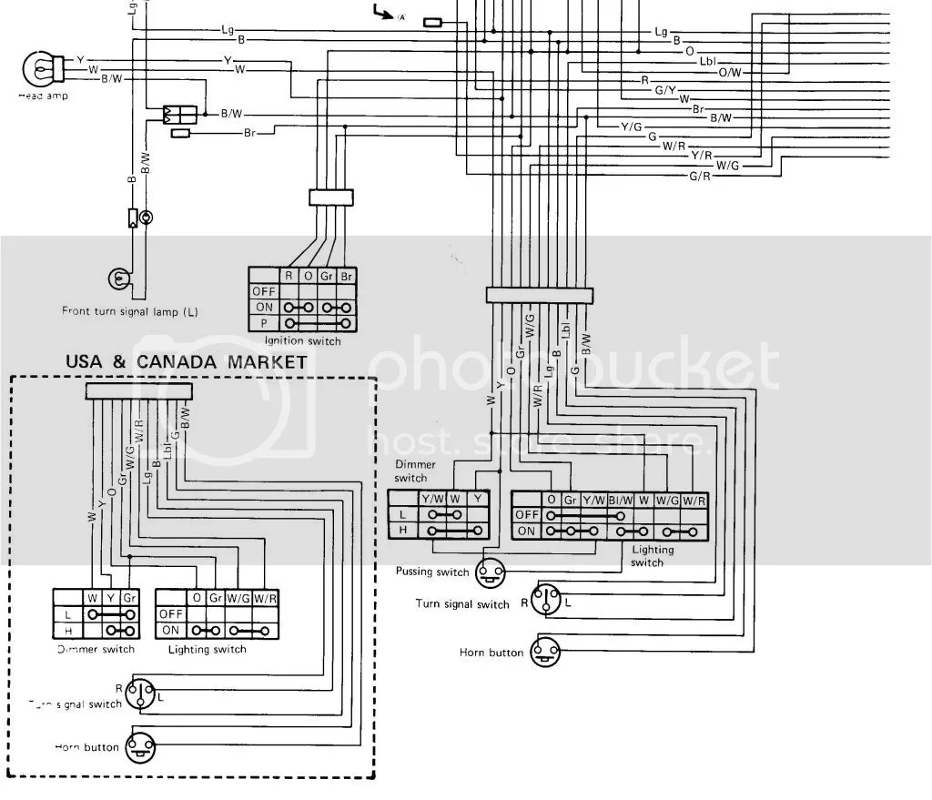 1982 YAMAHA QT50 WIRING DIAGRAM - Auto Electrical Wiring Diagram on