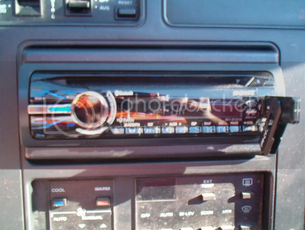 medium resolution of ran 14ga speaker wire from the front to the rear it has pioneer 6x9 s in the rear and pioneer 4x6 plates in the dash there are also pioneer 4 in the