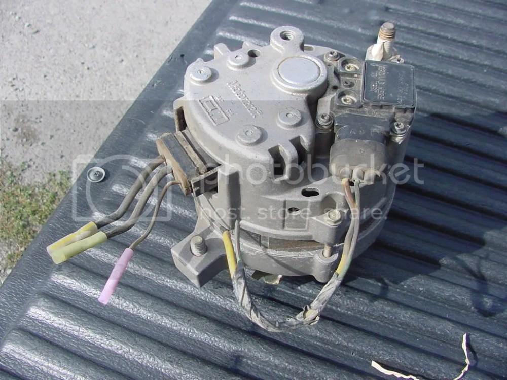 medium resolution of 1986 ford alternator wiring