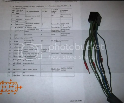 small resolution of e2 wiring harnes