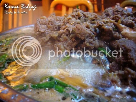Cooked bulgogi