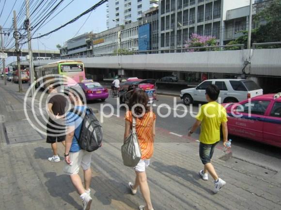 walk walk at bangkok