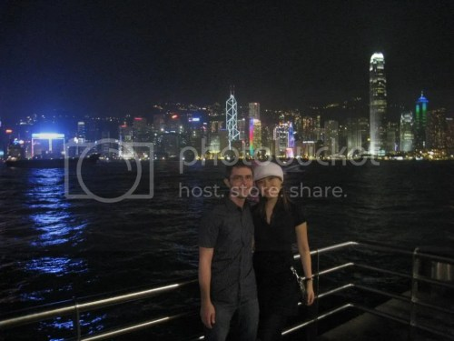 MNG and HKG skyline