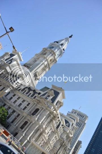 City Hall Closeup Side view