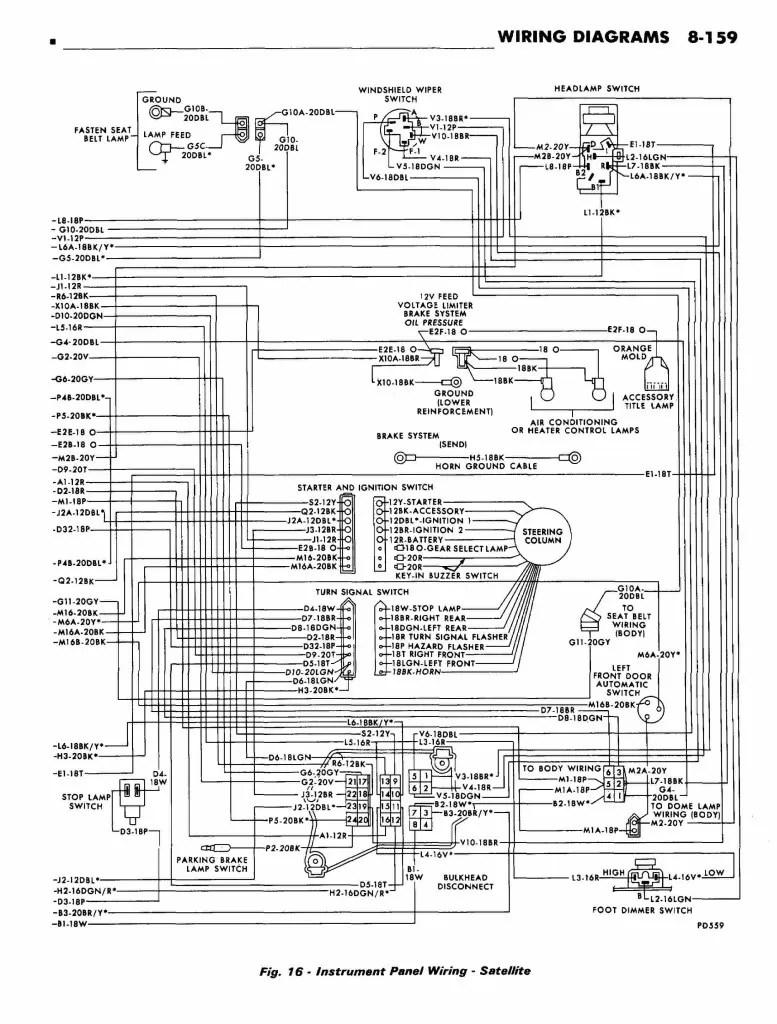 [WRG-4083] 71 Cuda Wiring Diagram