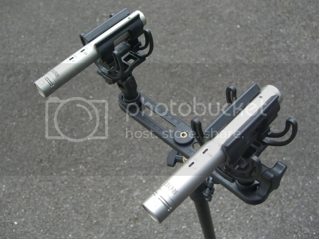 Rode Nt55 Matched pair mounted photo CIMG1434_zps46a85239.jpg